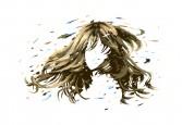 1203髪の毛くるりん